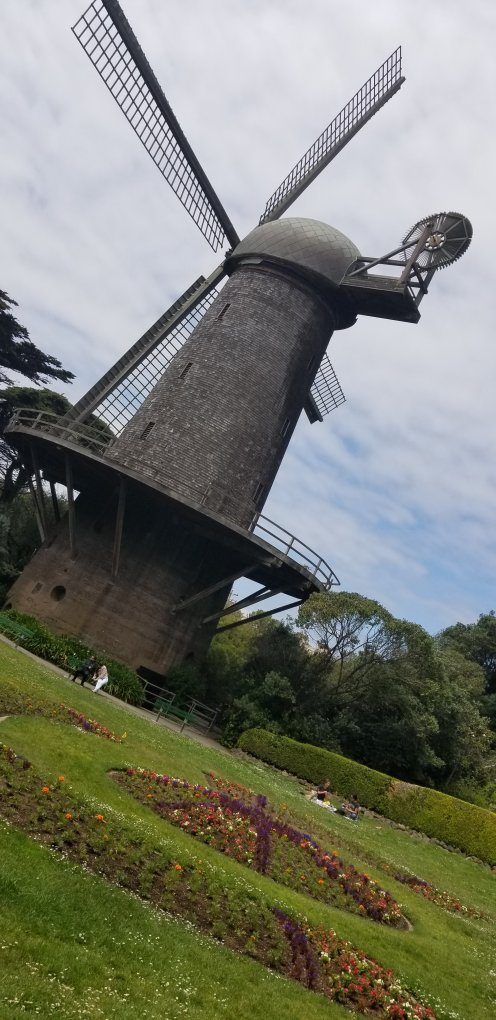 Historical Dutch Windmill built in 1903