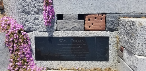 The Wave Organ built in 1986
